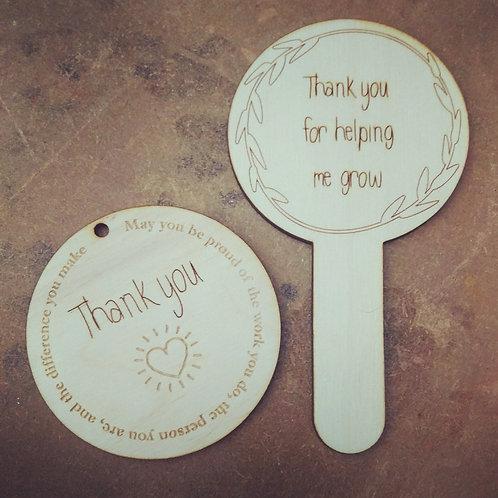 Thank you Teacher gifts