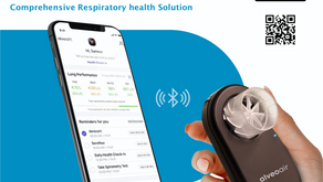 Digital, Affordable, Accessible Respiratory Care – A new way for managing your respiratory health