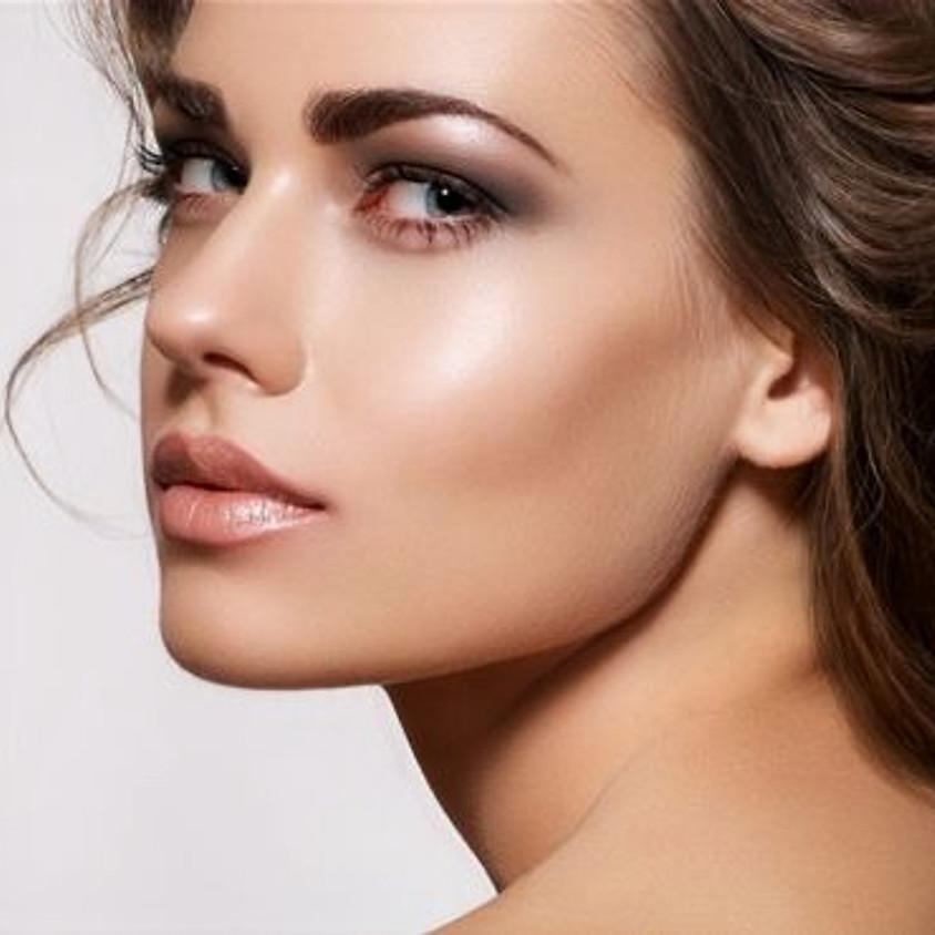 Объемное моделирование лица. Top model look