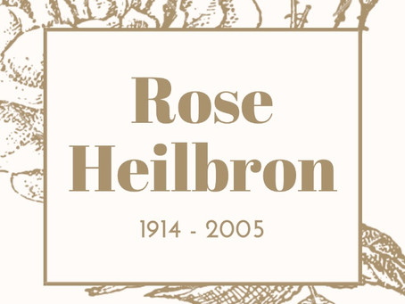 Rose Heilbron - 100 Years of Women in Law