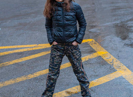 Opvallen in camouflage!