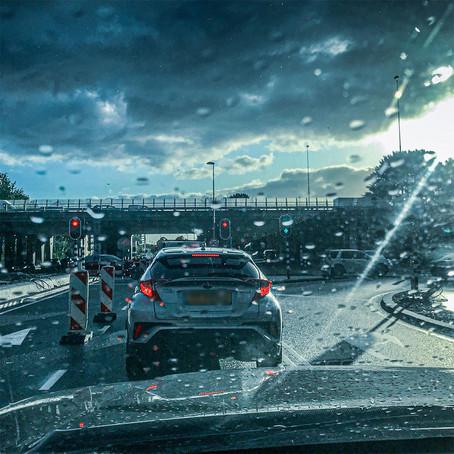 Wat een vreselijk nat weer, wind, storm, het houdt niet op.