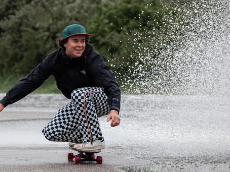 Regen & skateboarden?...