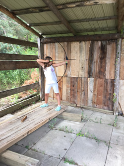 archery set up