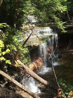 neighbouring waterfall