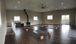 2nd floor yoga studio