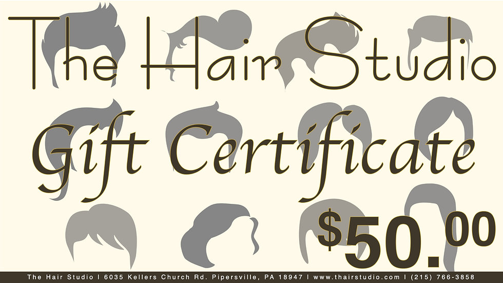 $50 Gift Certificate (Donated)