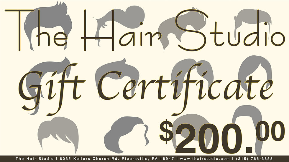 $200 Gift Certificate (Donated)