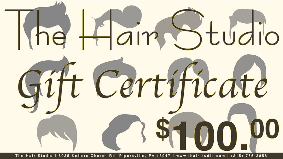 $100 Gift Certificate (Donated)