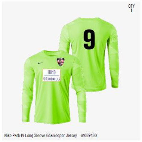 Keeper Game Jersey