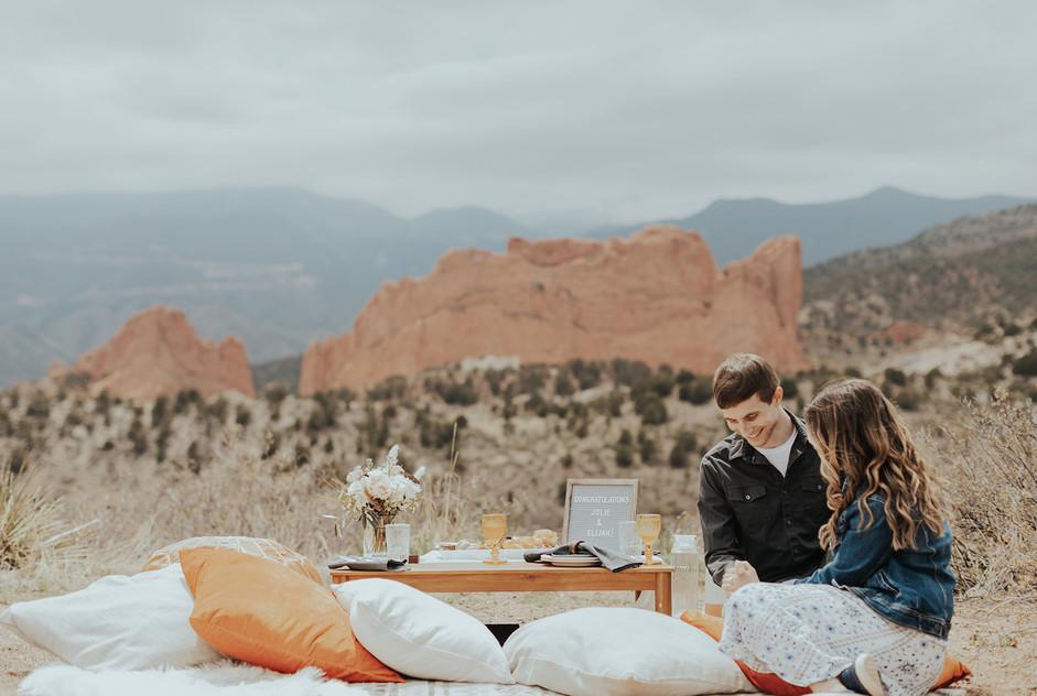 Colorado Engagement: Julie + Elijah