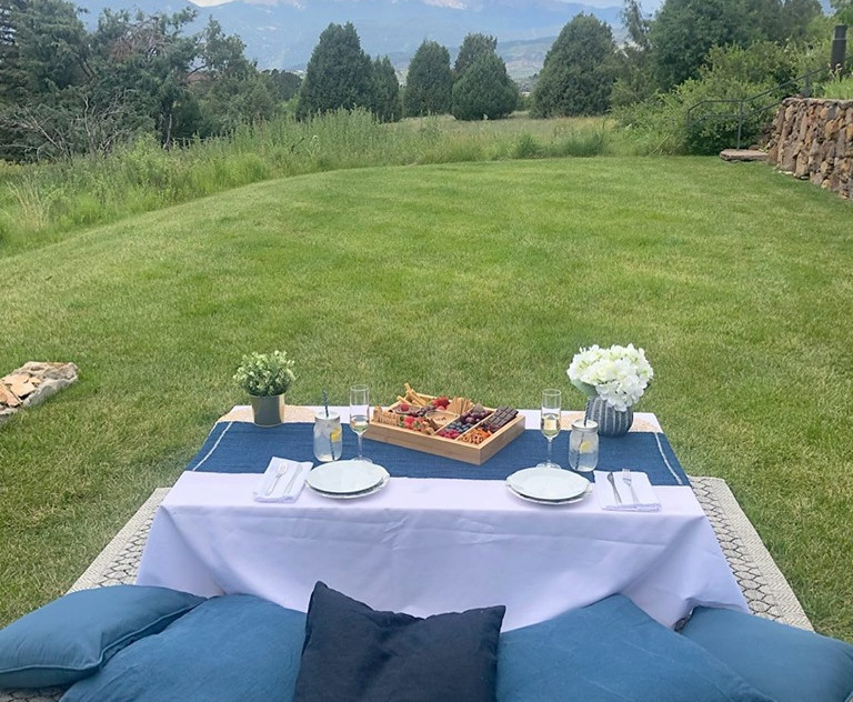 Picnic for 2 at the UCCS Heller Center