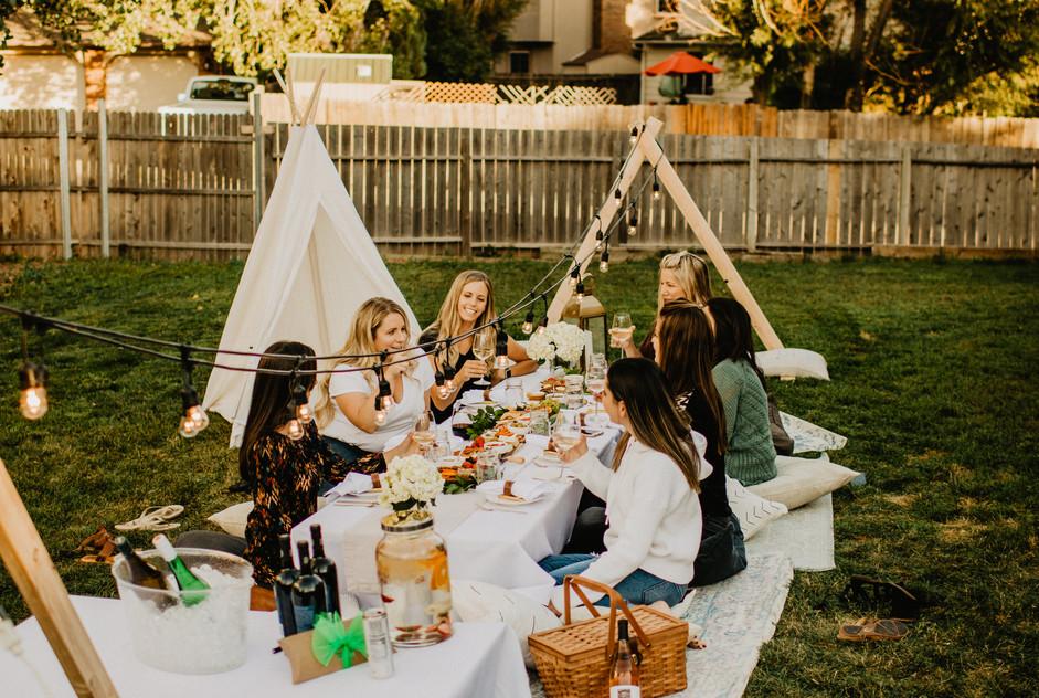 Backyard Picnic - Girls Night