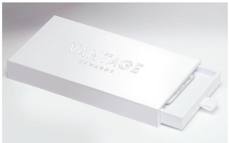 card presentation box