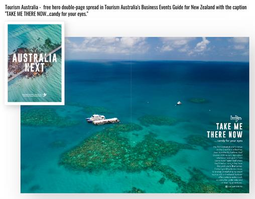 Tourism Australia feature