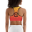 Thumbnail: Sports Top - Gradient pattern with dual flames