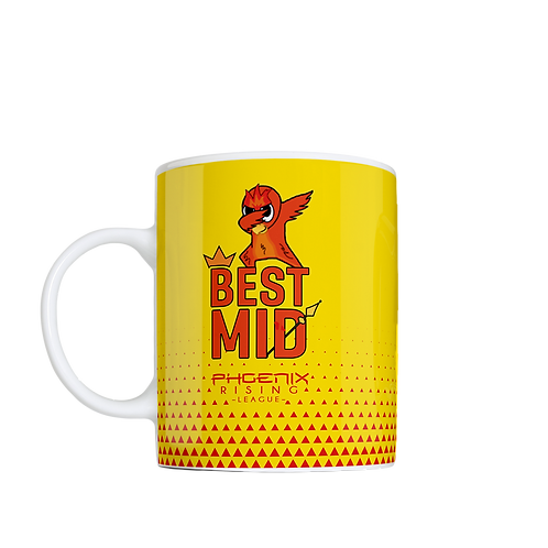 Customizable Coffee Mug - Yellow
