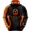 Thumbnail: Pullover Hoodie - Flame Design