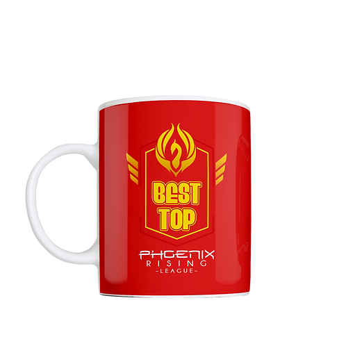 Customizable Coffee Mug - Red