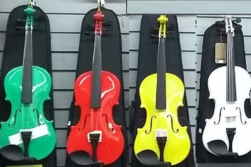 Violín sencillo 3/4 y 4/4 básico, ideal para comenzar