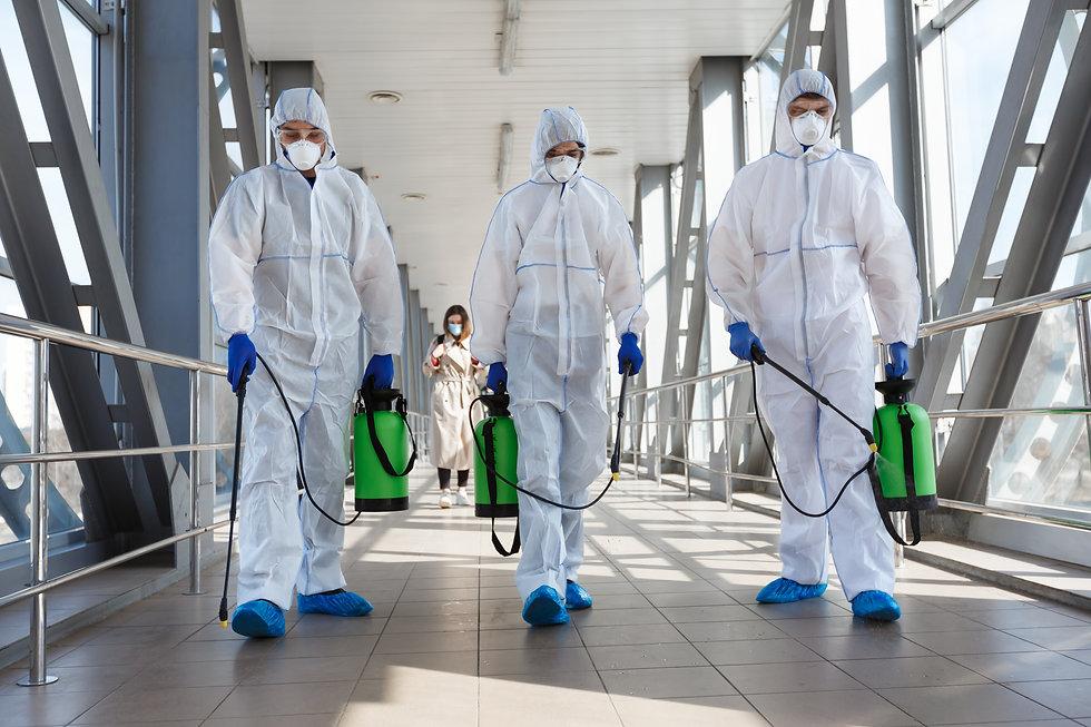 Specialist in hazmat suits cleaning disi