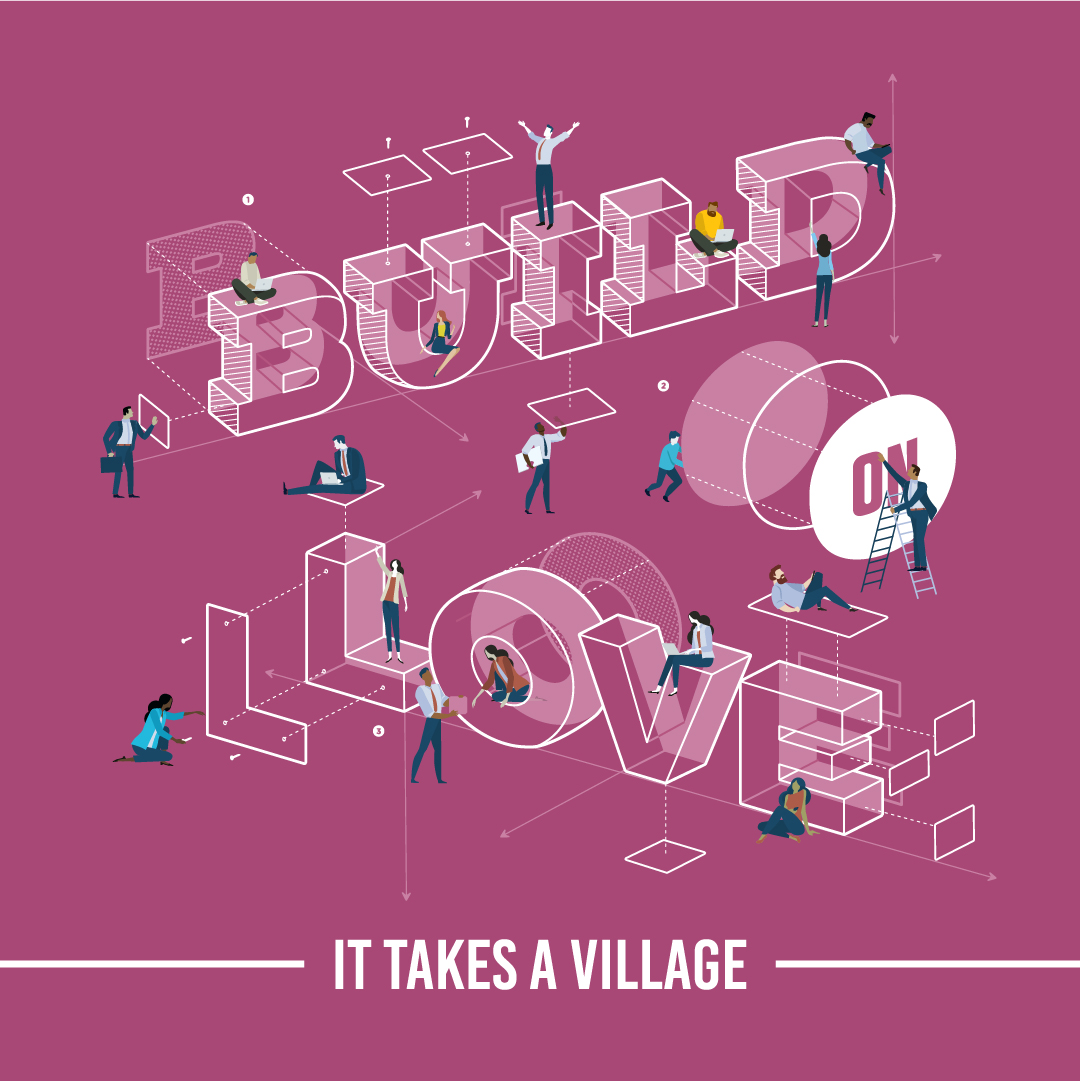 BuildLove(village)