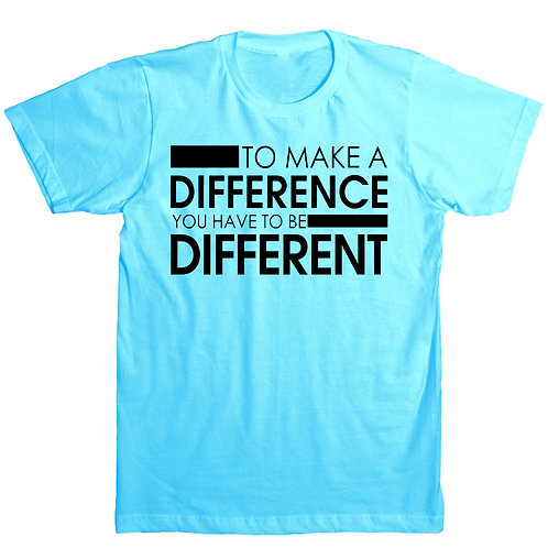 To Make A Difference T-SHIRTS