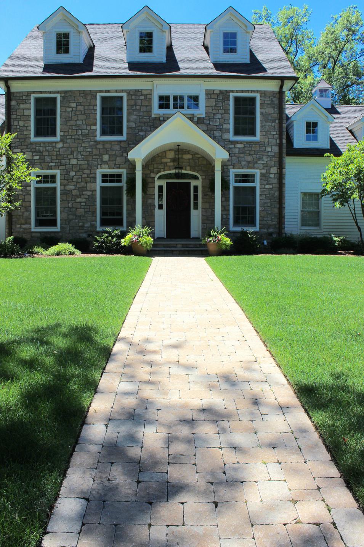 Brick Paver Front Walkway