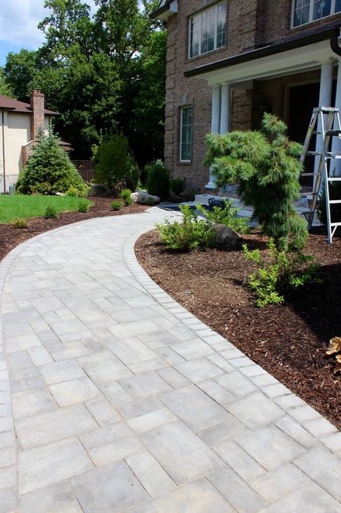 Front Entrance Paver Walkway