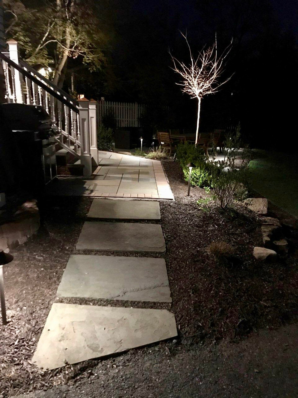 Path, Patio and Up Lighting