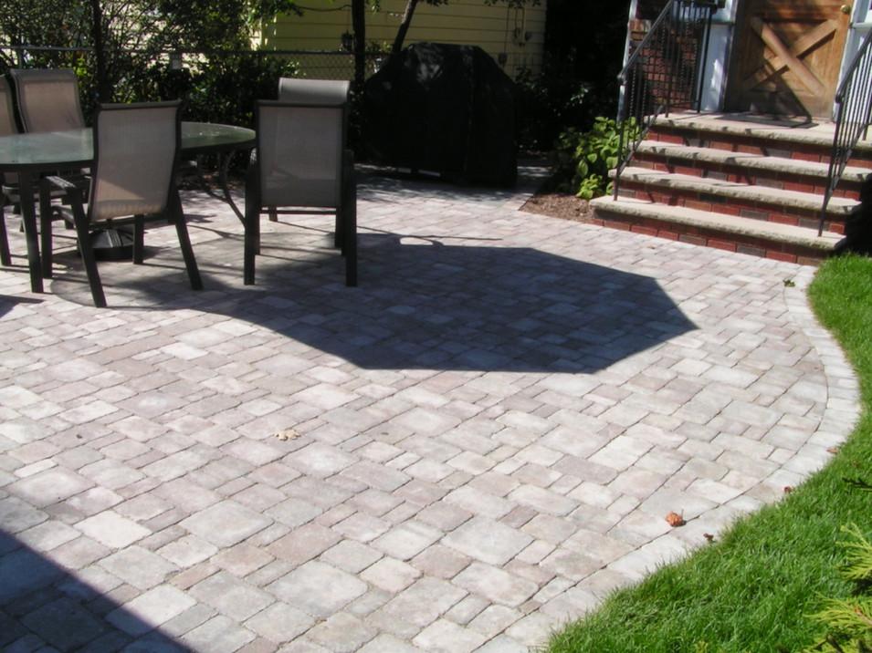 Four Piece Paver Backyard Patio