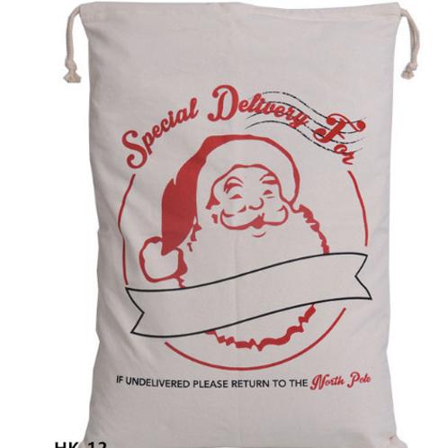 Saco para regalos navidad