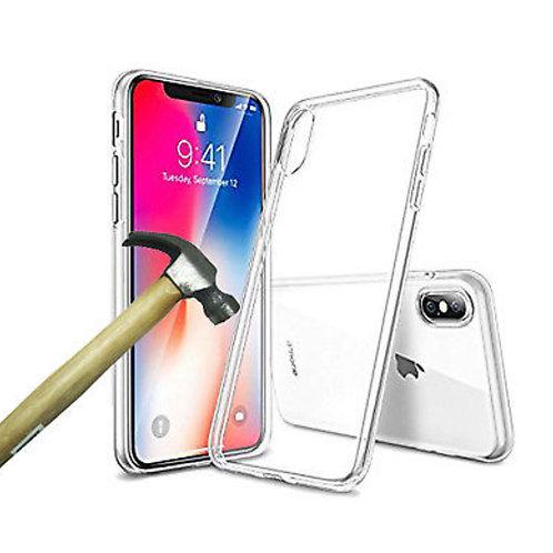 Funda Silicona transparente y cristal templado nuevos Iphone