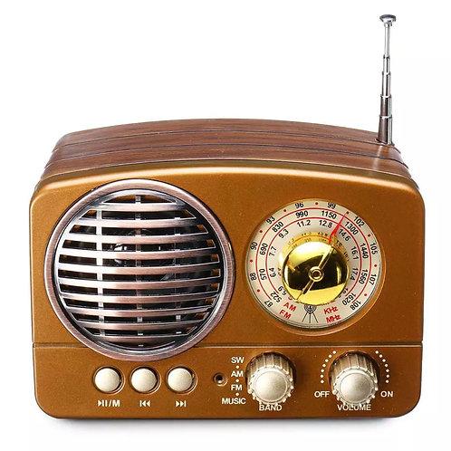 Mini radio retro + Altavoz