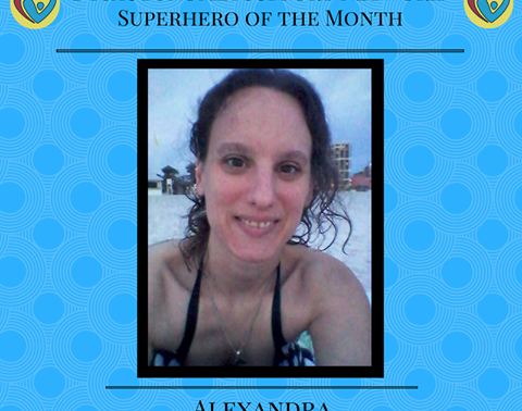 DSN Superhero of the Month
