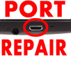 Charge port repairs carried out on phones, tablets, laptops ect...