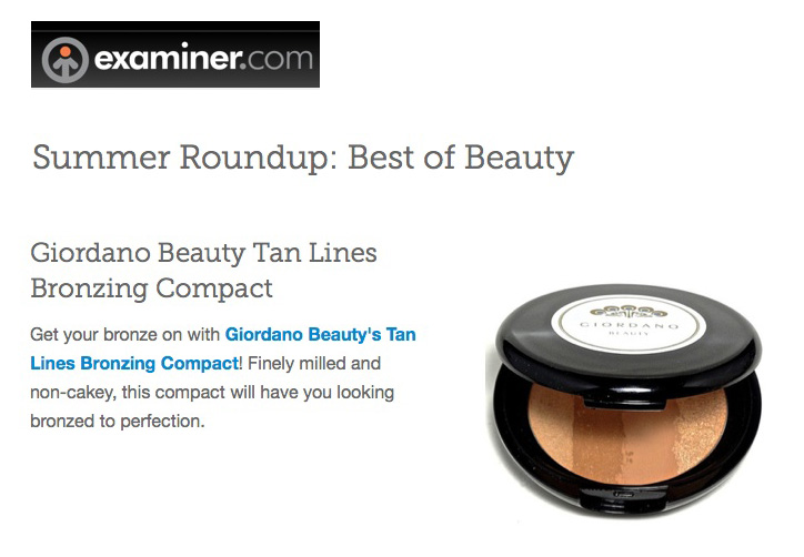 Tan Lines Bronzing Compact in Examin