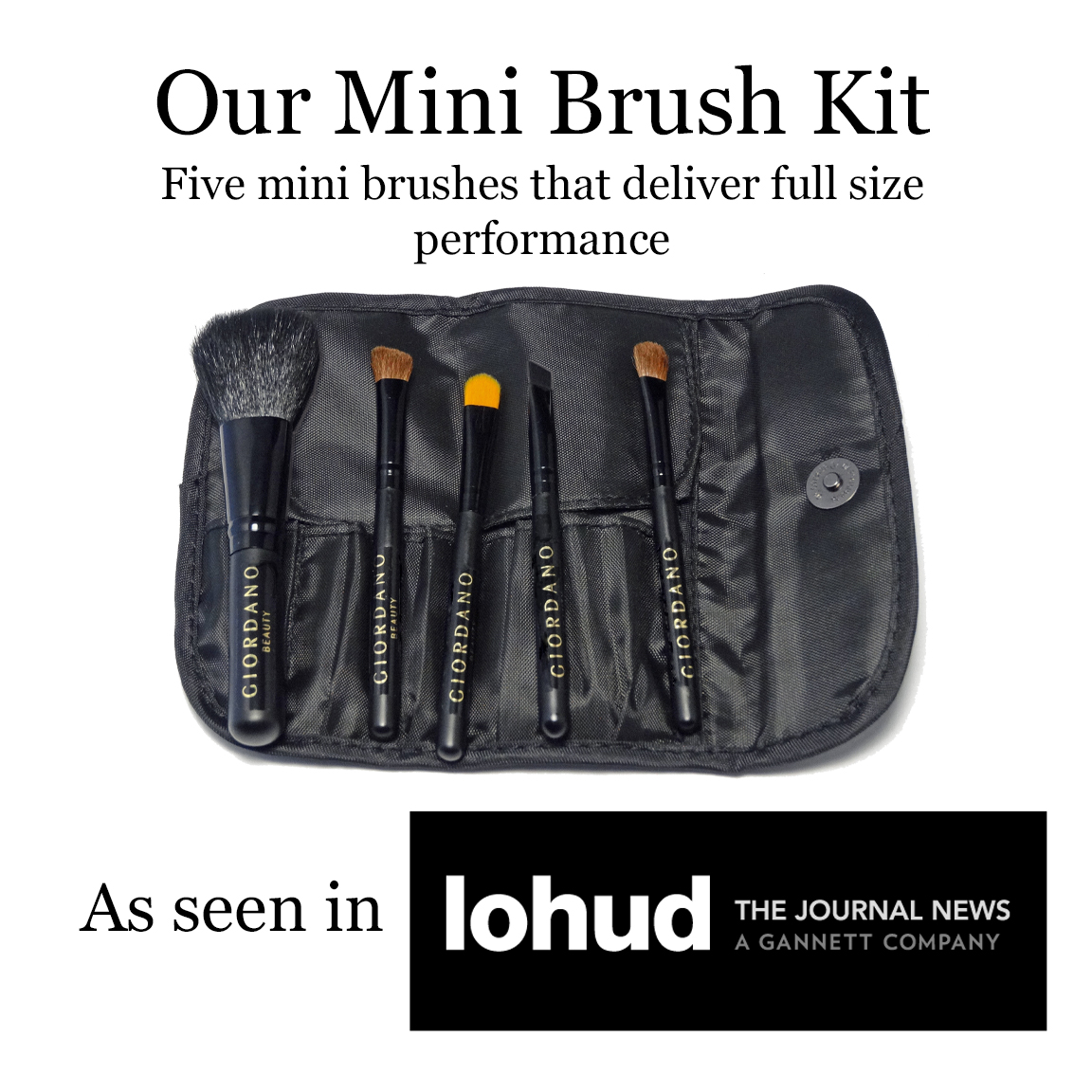 Mini Brush Kit in LoHud Journal News