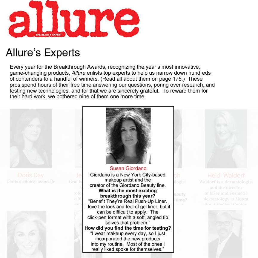 Allure's Expert