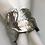 Thumbnail: TA Napkin Ring - Silver & Gold