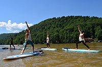 Cheat Lake Paddleboard Yoga