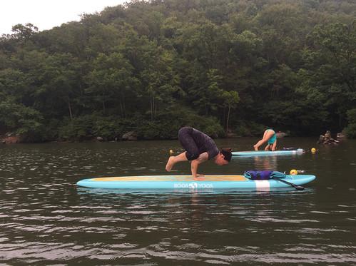 Morgantown Paddleboard Yoga