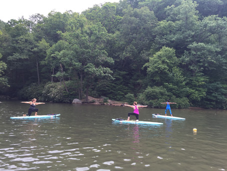 Let's do SUP Yoga before Summer is Over!