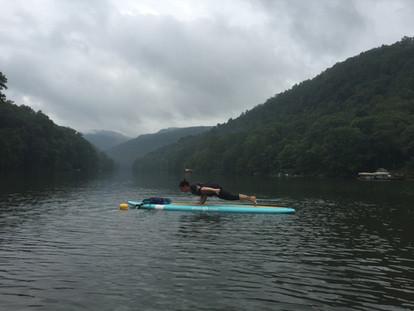 Cheat Lake SUP