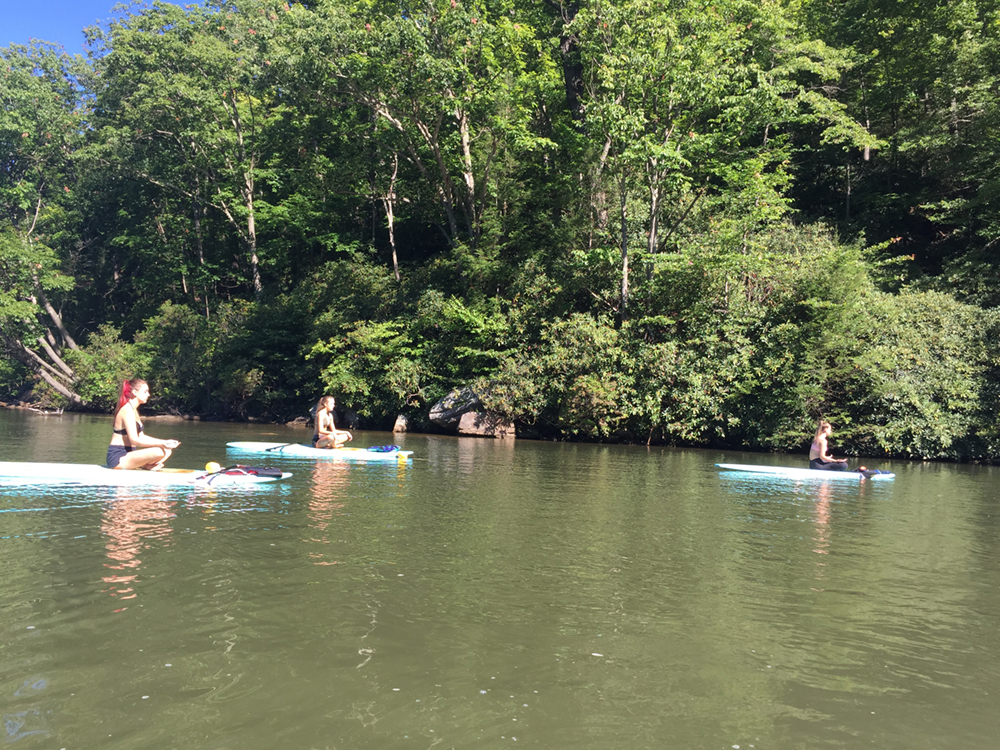 Morgantown Paddle Board Yoga