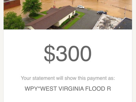 SUP Yoga West Virginia Flood Relief