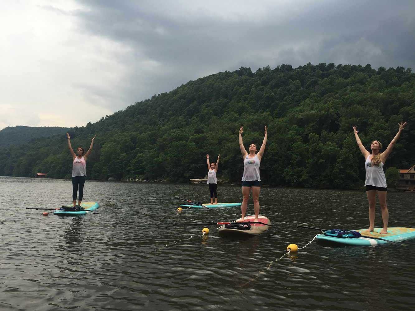 Morgantown Paddle Board Yoga