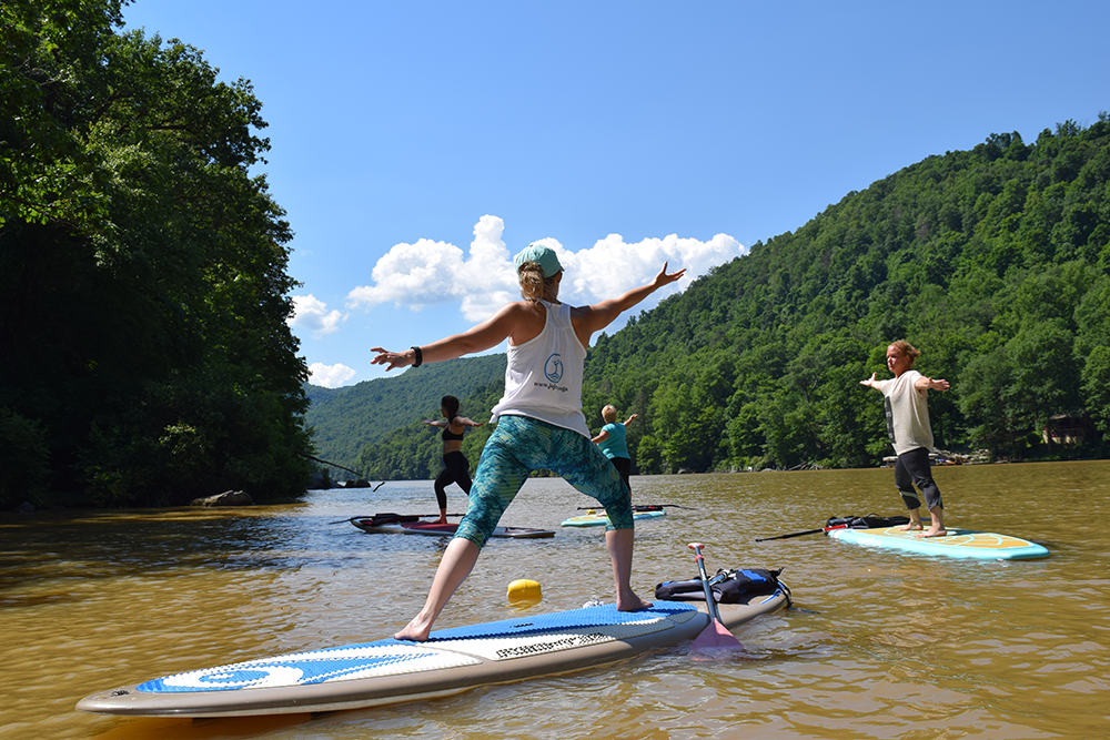Morgantown SUP Yoga