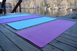 Yoga Mats at Cheat Lake
