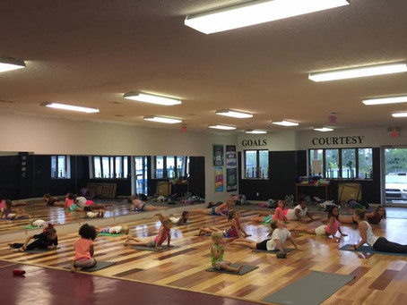 Teaching Future Yogis